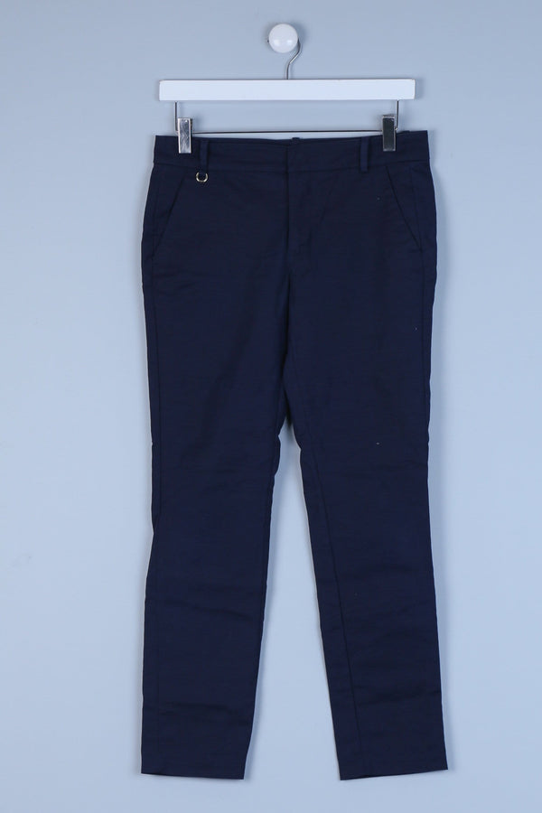 Low Rise Tailored Straight Leg Trousers