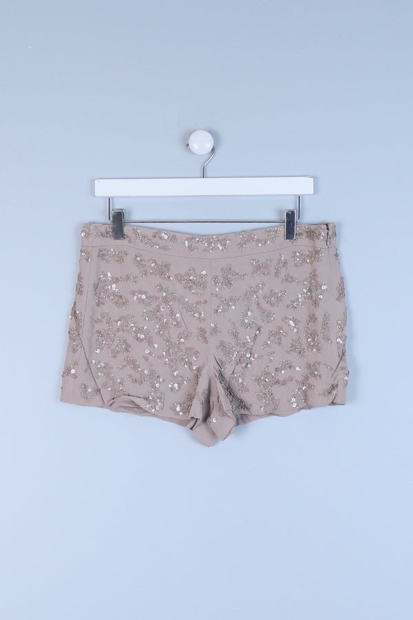 Sequin Detailed Mini Shorts