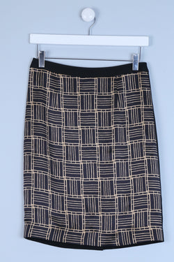 Geometric Patterned Skirt