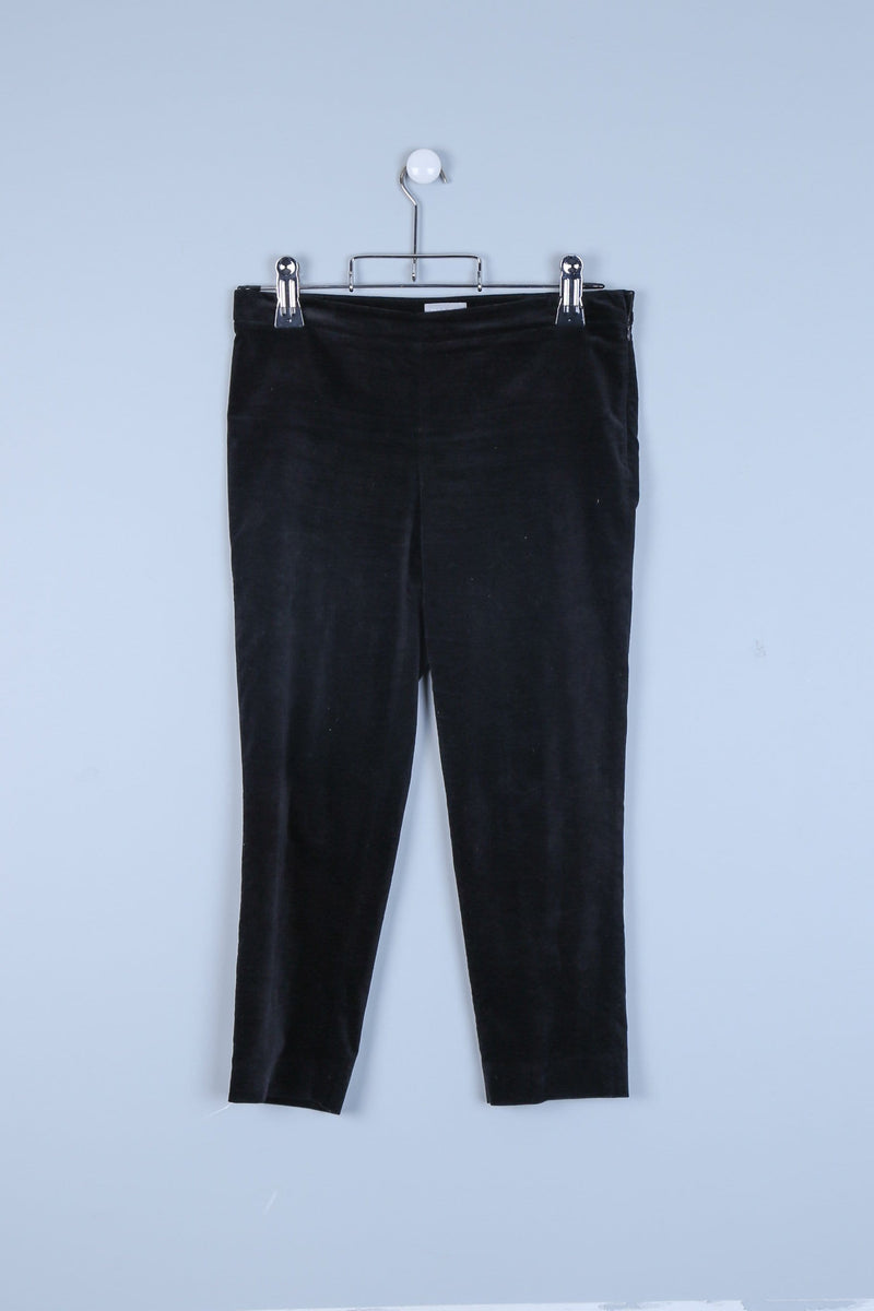Textured Boot Cut Trousers