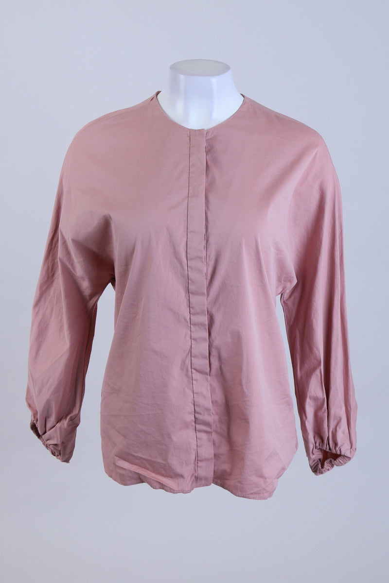 Button Up Long Sleeve Top