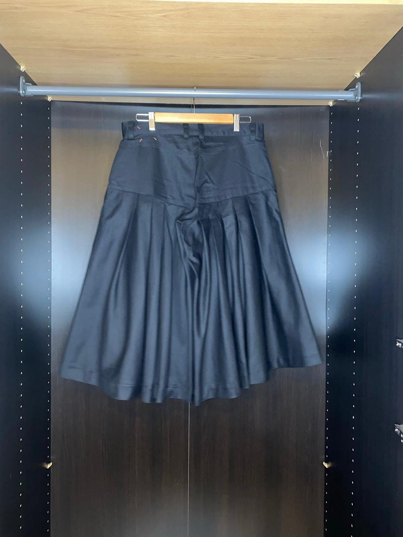 Pleated Twill Trouser / Skirt