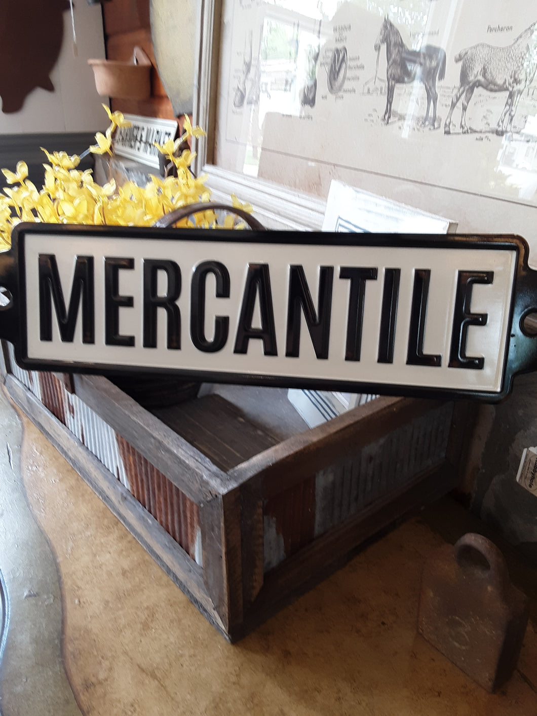 merchantile sign