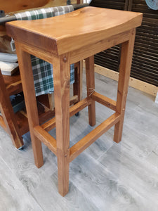 Locally crafted bar stools