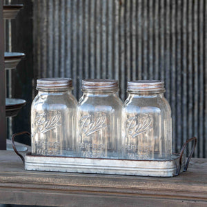 Jar Organizer with Jars
