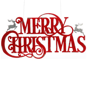 "36"" MERRY CHRISTMAS SIGN"