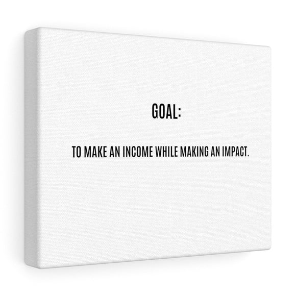 Make An Impact Canvas Frame