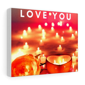 Love You Canvas Frame