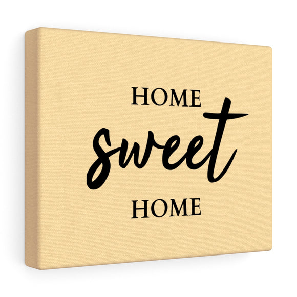 Home Sweet Home Canvas Frame