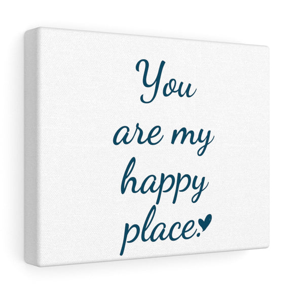 Happy Place Canvas Frame
