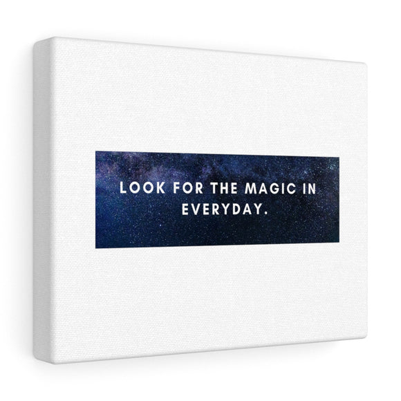 Look For The Magic Canvas Frame