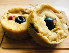 Cherry Berry Bakewell Cookies (Box of 6)
