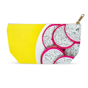 Yellow Dragon Fruit Accessory Pouches
