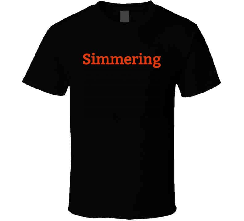 Simmering  Men's T Shirt