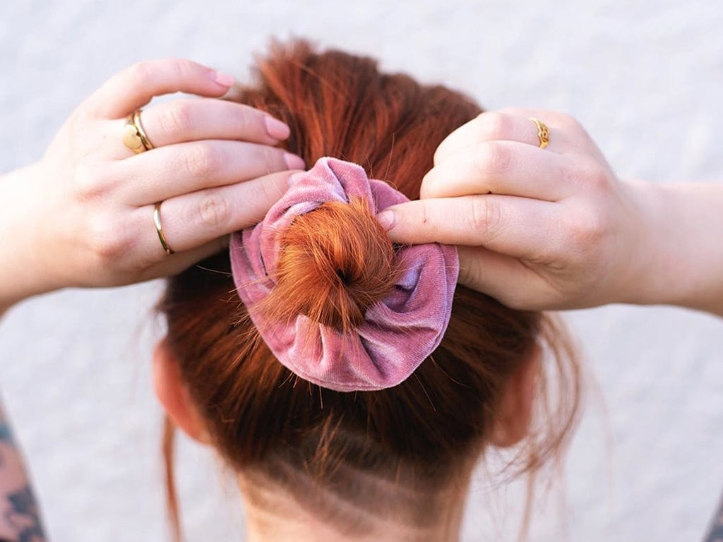 Luxe velvet scrunchie be my bridesmaid gift box nz