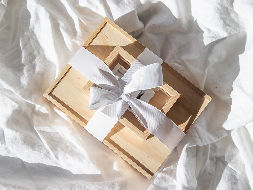 Unique New Zealand-made wooden gift box