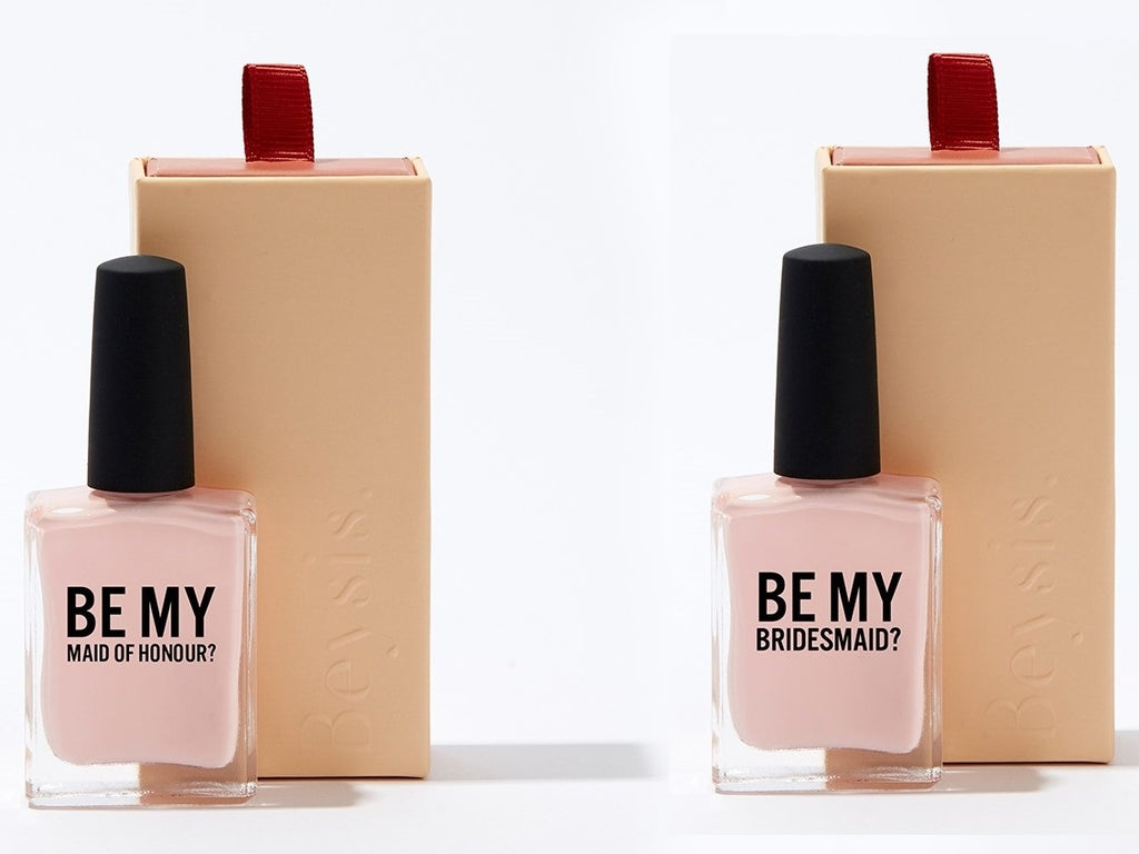 Be My bridesmaid Nail Polish Be My Maid of Honour Nail Polish