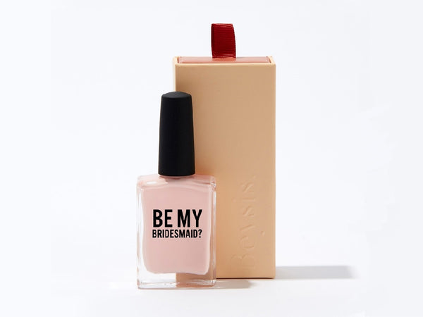 Be my bridesmaid nail polish - bridesmaid proposal gift NZ