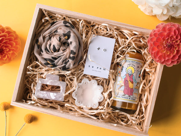 NZ made gift box with local products - gifts for her