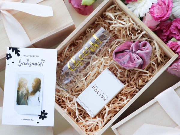 Be my bridesmaid gift box nz