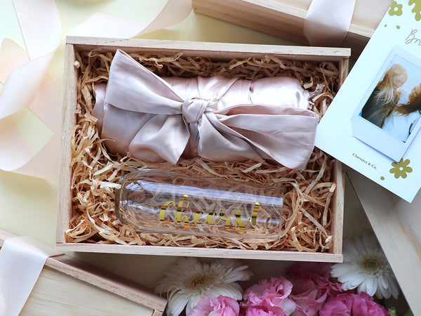Wedding day essentials bridesmaid box NZ