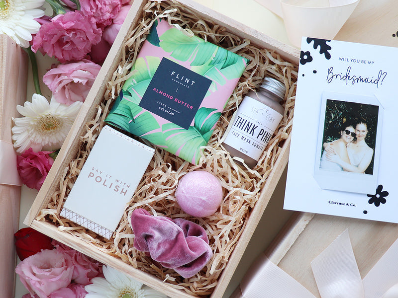Luxury bridesmaid boxes NZ