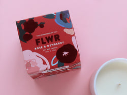 FLWR Rose & Dewberry Candle