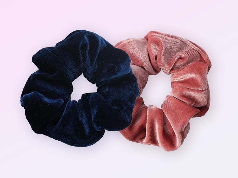 2-Pack Velvet Scrunchies
