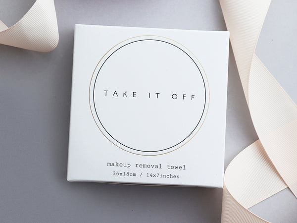 Take It Off — Make Up Removal Towel
