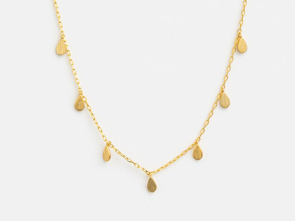 Stella + Gemma Tear Drop Necklace