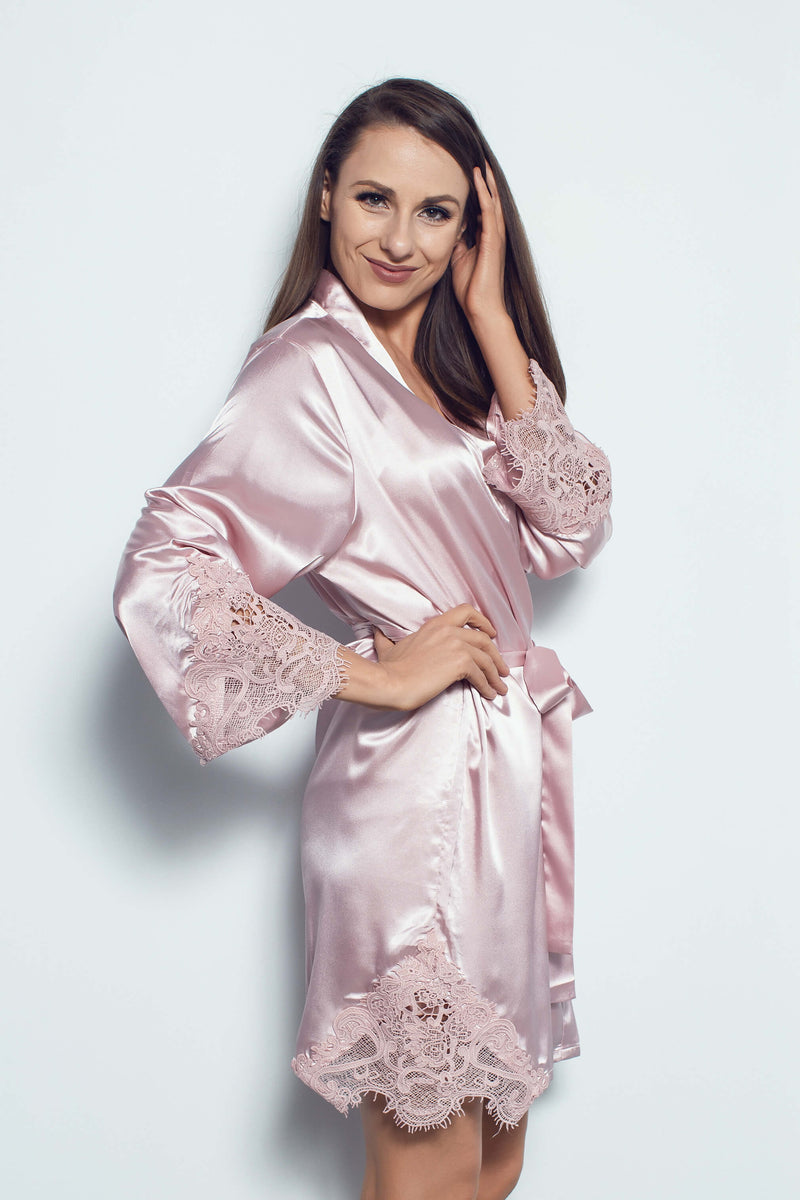 Paris Robe in Rose