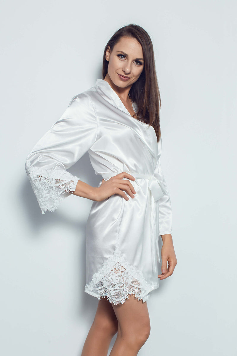 Paris Robe in White