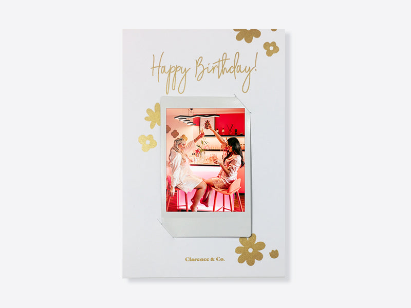 Personalised photo birthday card NZ