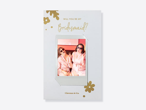 Will you be my bridesmaid card NZ - personalised