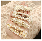 15Pcs Pearls Hair Clips for Women