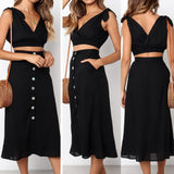 Two Piece Set Summer Clothes for  Women's