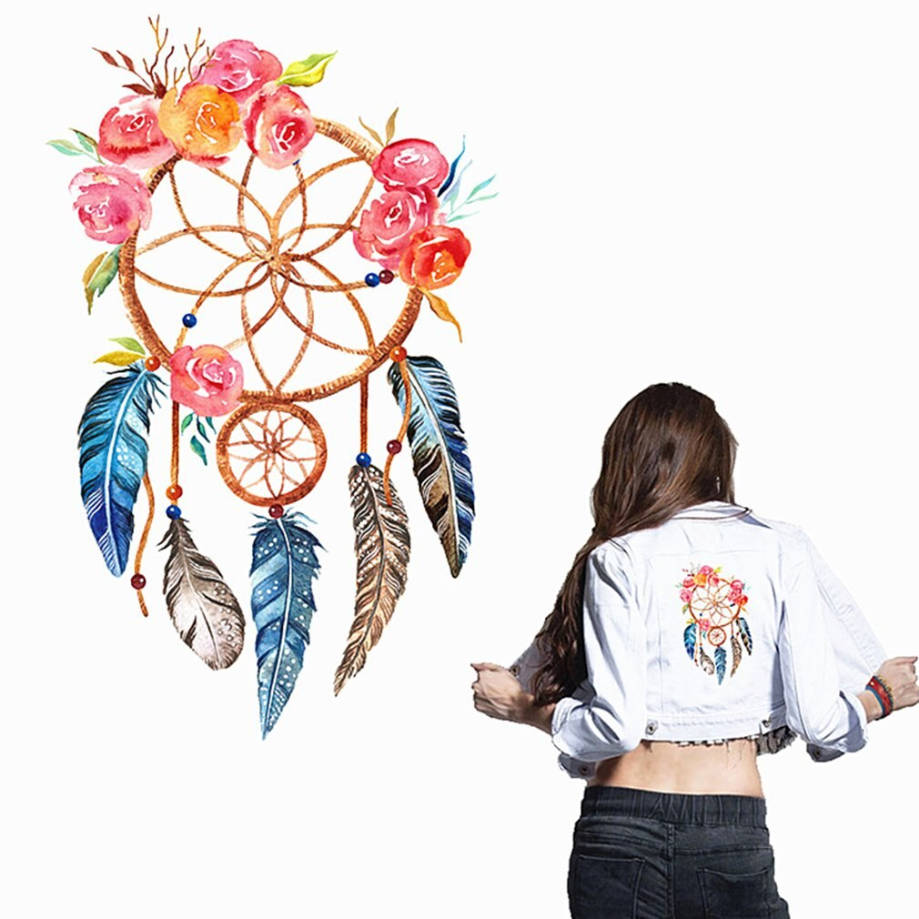 3D Dream Catcher Pattern Sticker