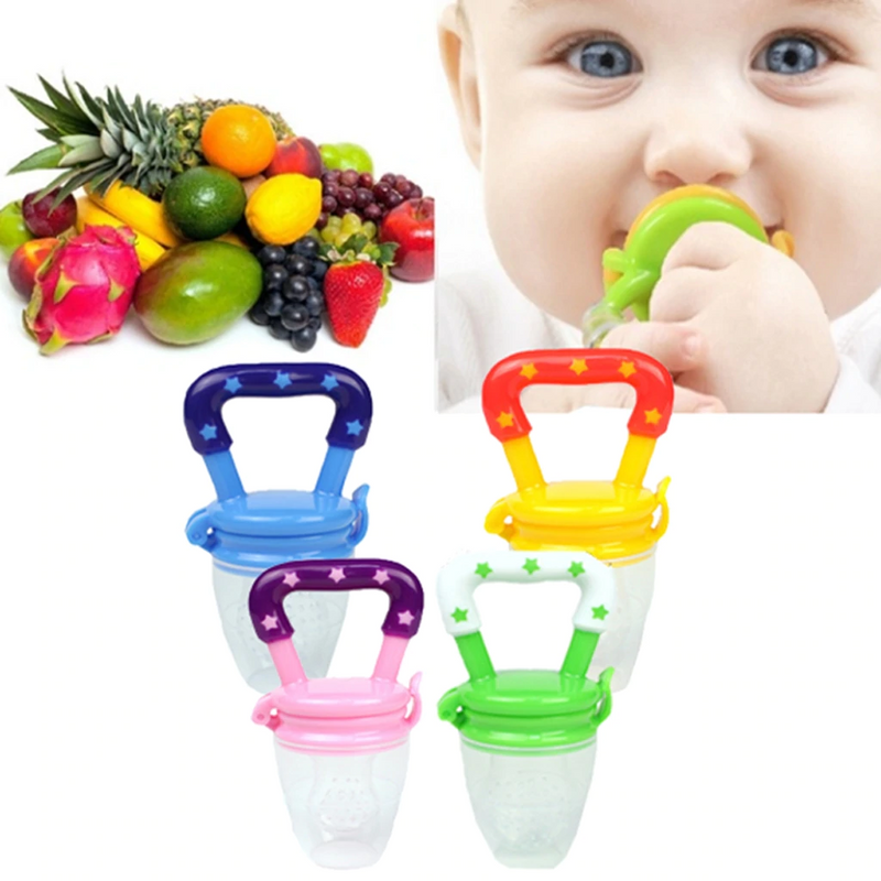 Strawberry Shaped Safety Silica Gel Children Baby Kids Infant Grinding Teethers