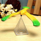 Amazing Balancing Eagle With Pyramid Stand Magic Bird Desk Kids Toy