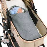 Baby Solid Warm Swaddle Wrap Stroller Blankets
