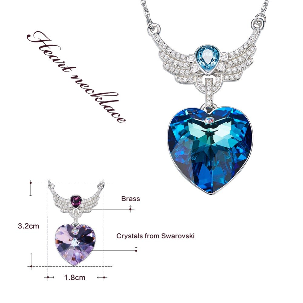 Swarovski Necklaces Luxury Embellished with crystals