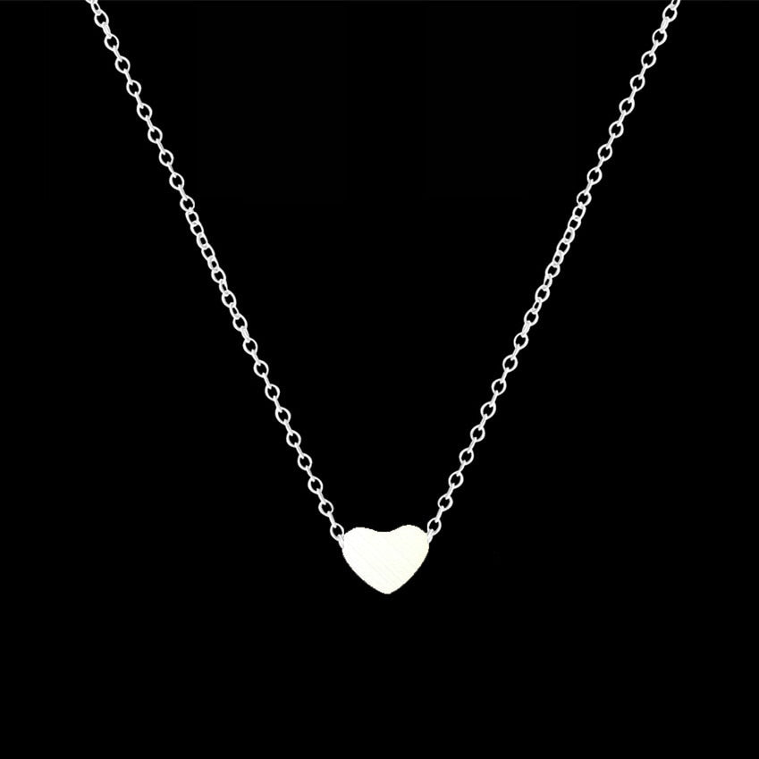 Choker Dainty Heart Pendant Necklaces For Women