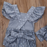 Cute Newborn Baby Girls Clothes Summer Rompers