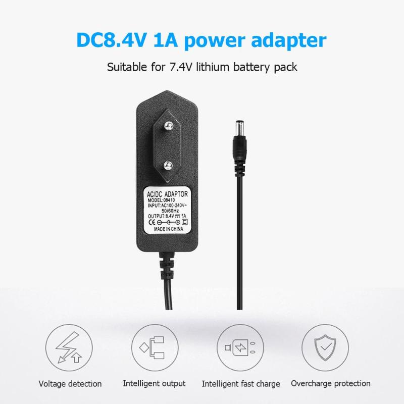 Battery Charger 16.8V DC 2A Intelligent Lithium Power Adapter EU US Plug