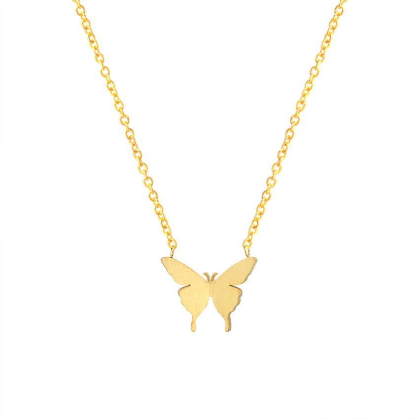 Butterfly Charm Necklaces For Women