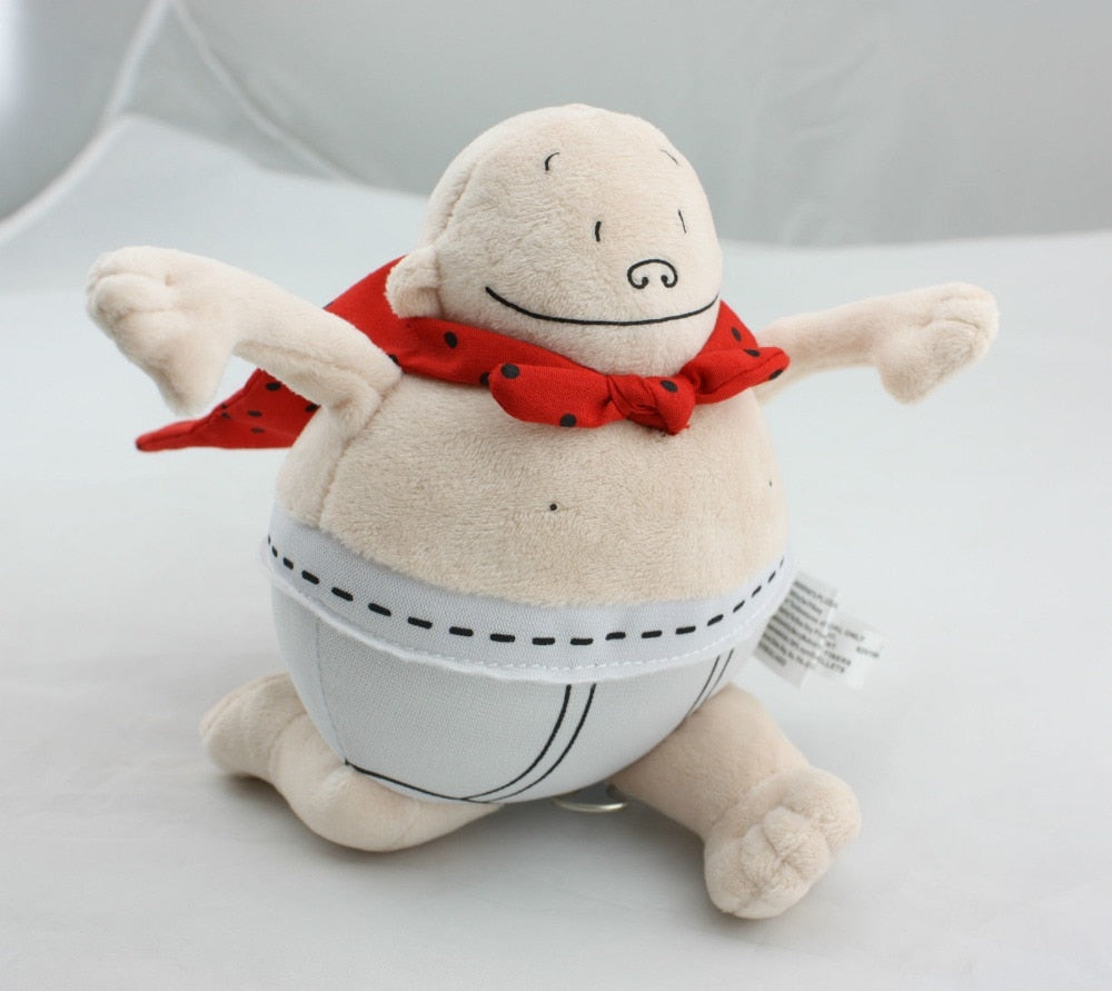 Captain Underpants Merry Makers 2002 Plush Stuffed Doll Book Toy