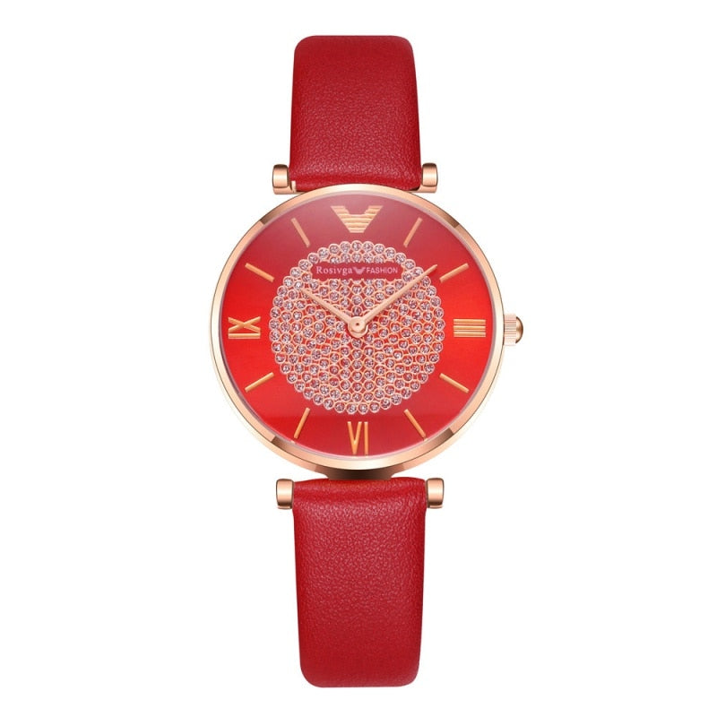 Fashion Simple Diamonds Shinning Watch