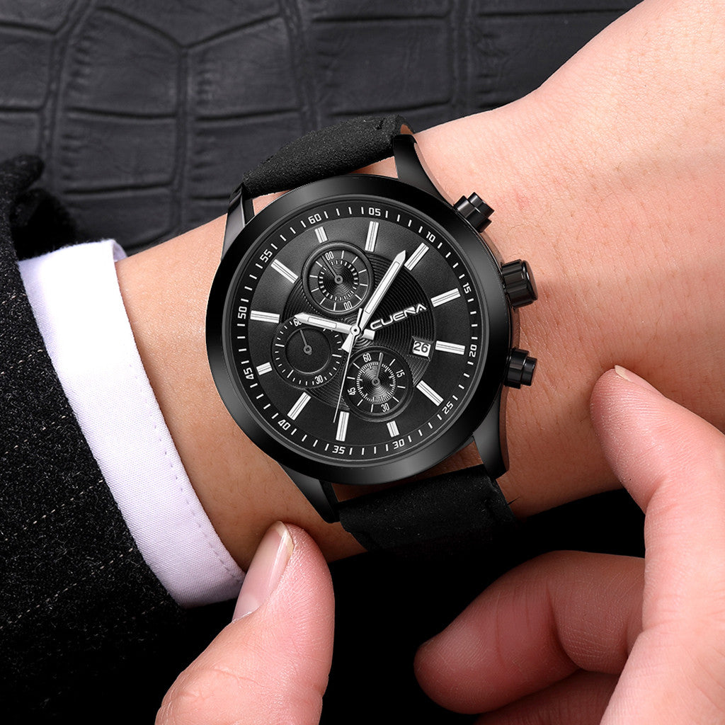 Fashion men luxury business sport quartz watch