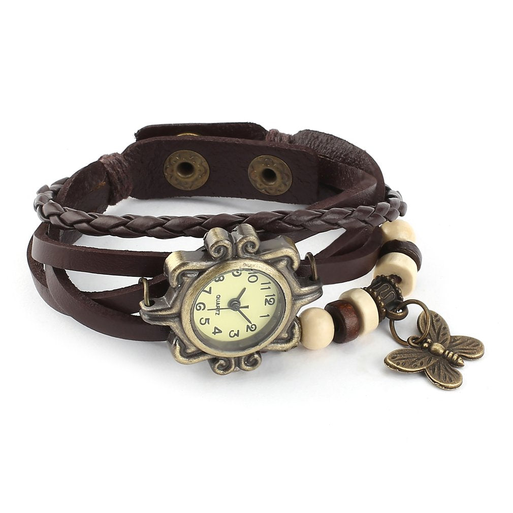 Vintage Butterfly women's Bracelet Watch