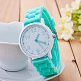 Fashion Women Silicone Motion Quartz Watch